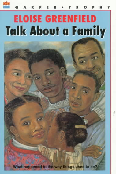 Talk About a Family By Greenfield, Eloise/ Calvin, James (ILT)